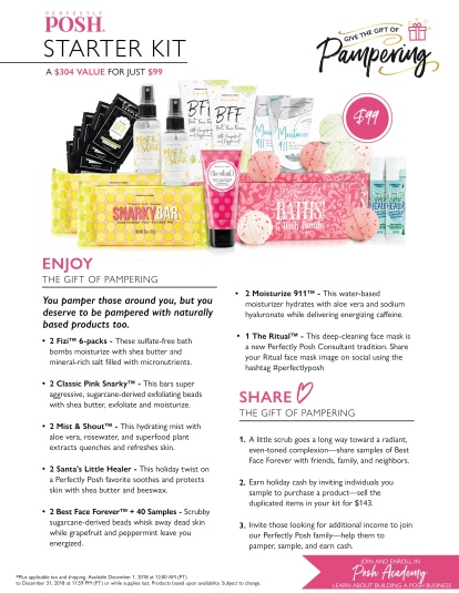 Gift of Pampering Flyer3
