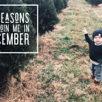 3 Reasons to Join Me in December